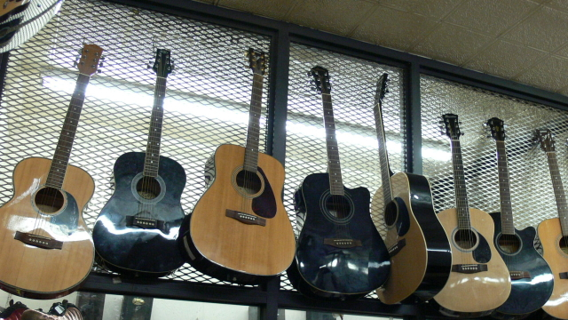 Musical Instruments at Cash USA Pawnshop Baltimore