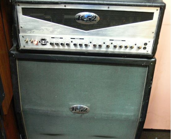Picture of B52 AT-100 ALL TUBE AMPLIFIER W/ TRI MODE RECTIFIER W/ B52 SPEAKER