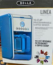 Picture of BELLA LINEA 14116 COFFEE MAKER BLUE