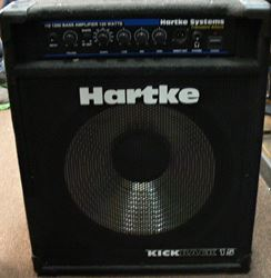 Picture of HARTKE KICKBACK15 HS1200 BASE AMPLIFIER