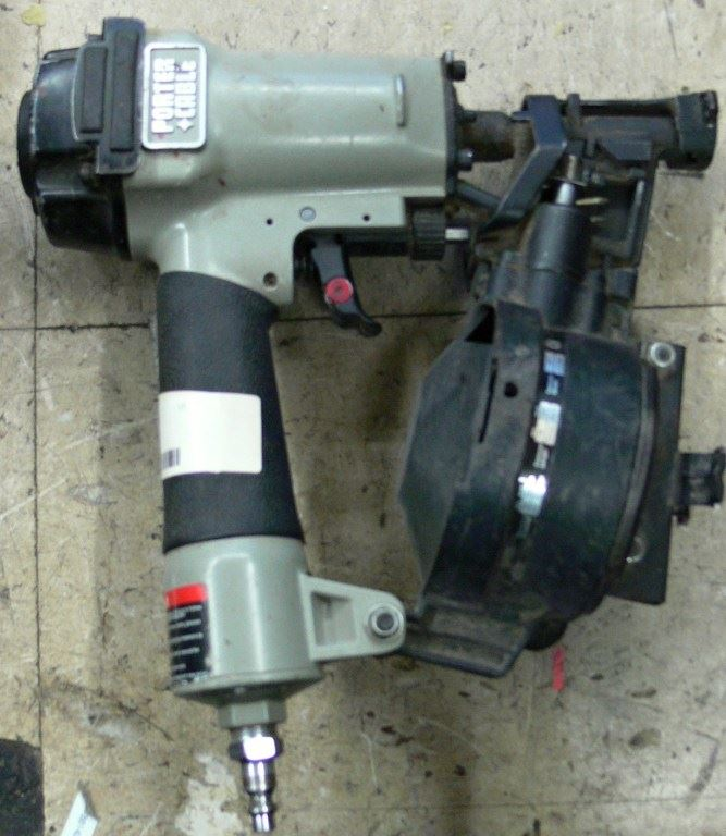 Picture Of PORTER CABLE RN175A ROOFING COIL NAILER ...