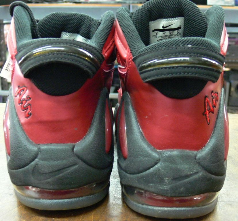 picture of nike air max uptempo 97 size 8 varsity red .