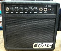 Picture of CRATE EL-10G BASS PRACTICE AMP
