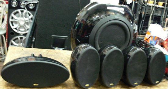 Picture of KEF HTB2 SURROUND SOUND SUBWOOFER