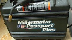 Picture of MILLERMATIC PASSPORT PLUS LK48006N WELDER