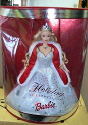 Picture of SPECIAL 2001 EDITION HOLIDAY CELEBRATION DOLL