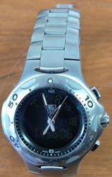 Picture of TAG HEUER CL111A-0 KIRIUM F1 FORMULA ANALOG DIGITAL CHRONOGRAPH STEEL WATCH