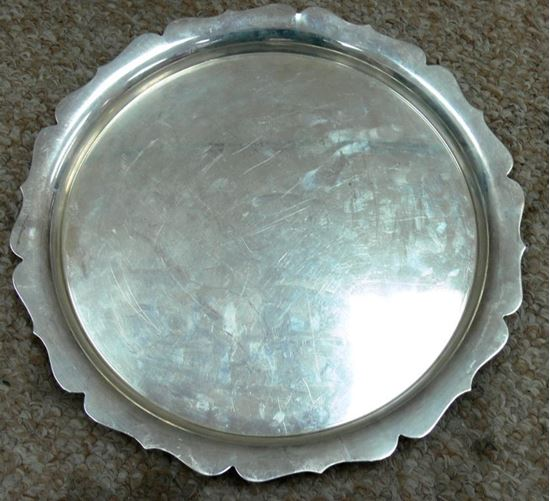 Picture of FISHER STERLING TRAY 19.82 0Z .2864