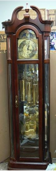 Picture of RIDGEWAY GRANDFATHER CLOCK VINTAGE