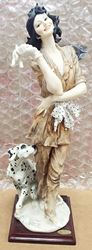 Picture of GIUSEPPE ARMANI 649/C MARINA (LADY WITH DALMATIAN) PORCELAIN FIGURINE