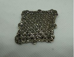 Picture of STERLING SILVER MARCASITE PIN 13.7 GR VINTAGE