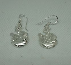Picture of Sterling silver earrings Noah Ark 4.8gr total weight
