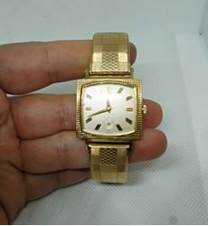 Picture of Vintage 10k rolled gold plate bulova g801077 automatic watch MINT