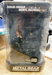 Picture of Metal Gear Solid (McFarlane) Snake & Meryl Action Figures, Fishtank, New in Box