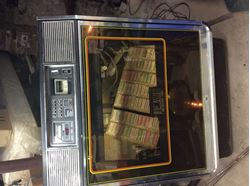 Picture of Rowe juke box model R-85 vintage