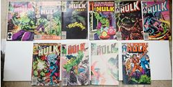 Picture of LOT 10 THE INCREDIBLE HULK MARVEL COMICS 310 286 330 299 294 292 1 45 104 VERY GOOD CONDITION. COLLECTIBLE.