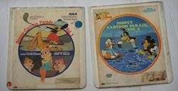 Picture of  2 RCA SELECTA VISION VIDEO DISCS WALT DISNEY