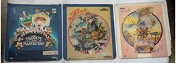 Picture of 3 RCA SELECTA VISION VIDEO DISCS THE MUPPET MOVIES