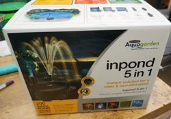 Picture of Aquagarden Inpond 5 in 1 Instant Solution for Clear & Beautiful Pond 200 Gallon. NEW .IN BOX.