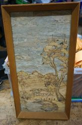 Picture of AUSTRALIAN WOOD PICTURE COLLECTIBLE 7 X 13 FREE SHIPPING