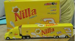 Picture of Action Dale Earnhardt Jr #3 Nilla Wafers Nutter Butter 2002 Nascar Diecast Hauler. 1 OF 2,508. NEW. COLLECTIBLE.
