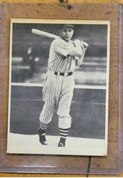 Picture of 1939 Play Ball #78 Julius Solters Cleveland Indians Baseball Card Original. vintage. collectible.