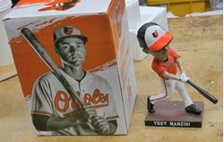 Picture of Trey Mancini Bobblehead new collectible.
