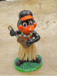 Picture of 2019 Baltimore Orioles Dashboard Hula Bird Hawaiian  Bobblehead  new .. in box.