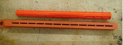 Picture of M&A Products - Staple Stick - SS2000 - ORANGE & Insulating High Voltage Rubber Glove Inspection Tool.new . out of box. lot of 2 .