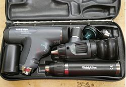 Picture of Welch Allyn Panoptic 118 Series Set- Ophthalmoscope/Otoscope, Very Good Cond